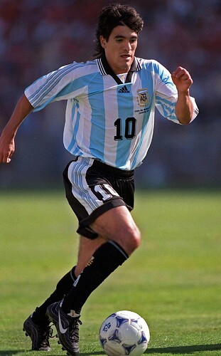 Ariel Ortega - Argentina World Cup 1998