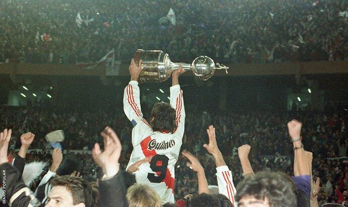 Francescoli - River Campeón Copa Libertadores 1996