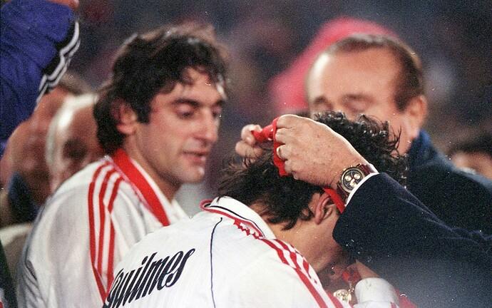 Francescoli  Ortega - River Campeón Libertadores 1996