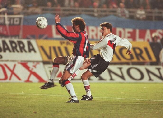 Crespo - Libertadores 1996