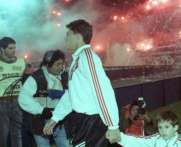 Crespo Final Libertadores 1996
