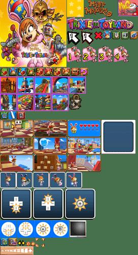 Wii - Myth Makers Trixie in Toyland - Main Menu
