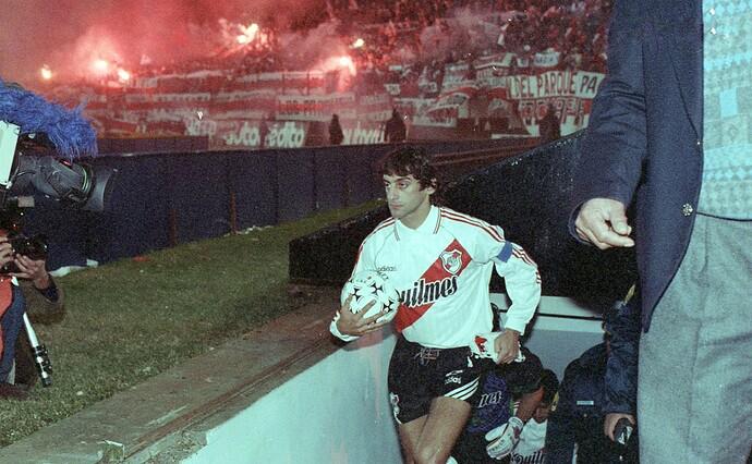 Francescoli - Final Copa Libertadores